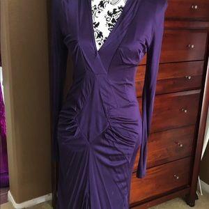Elegant, sexy long sleeved dress